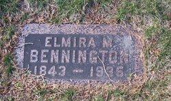 Elmira M <i>Hooker</i> Bennington