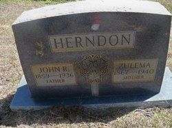 Zulema Gertrude <i>Tubb</i> Herndon