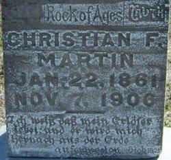 Christian F. Martin