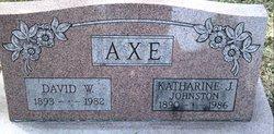 Katharine Jane <i>Johnston</i> Axe