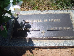 Mamie Maribel <i>Hill</i> Lewis