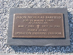 LCpl Jason N. Barfield