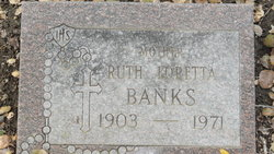 Ruth Loretta <i>Walsh</i> Banks