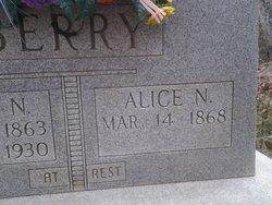 Alice Nancy <i>Tilley</i> Berry