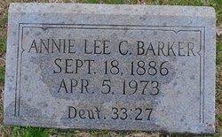 Annie Lee <i>Coffey</i> Barker