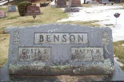 Gusta S. <i>Larson</i> Benson