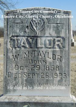 Wallace Monroe Taylor