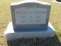 Thelma I. Addison