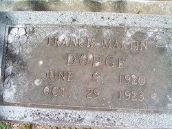 Francis Martin Dodge
