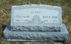 Clyde Forrest Adams