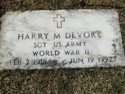 Harry M Devore