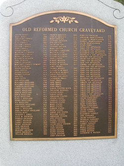 Old Reformed Church Graveyard
