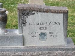 Geraldine <i>Gilroy</i> Hock