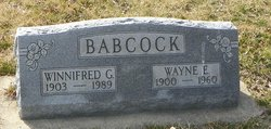 Wayne E. Babcock