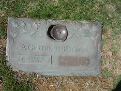 Agnes Gertrude <i>Carpenter</i> Redman (Easter)