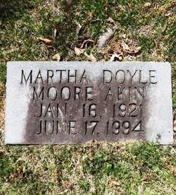 Martha Doyal <i>Moore</i> Akin