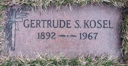 Gertrude <i>Schneider</i> Kosel