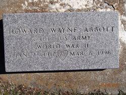Howard Wayne Abbott
