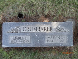 Mabel Ella <i>Chesnut</i> Crumbaker
