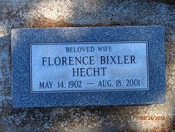 Florence <i>Bixler</i> Hecht