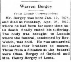 Warren Bergey
