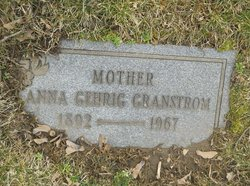 Anna Gehrig Granstrom
