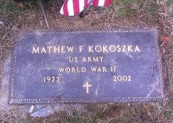 Mathew Frank Kokoszka, Sr