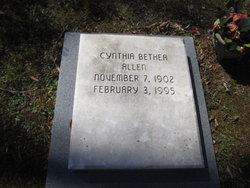 Cynthia <i>Bethea</i> Allen