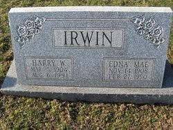 Edna Mae <i>Williams</i> Irwin