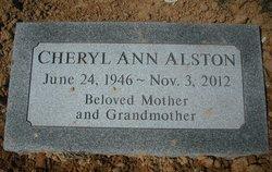 Cheryl Ann <i>Anderson</i> Alston