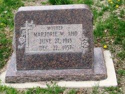 Marjorie <i>Winona</i> Aho
