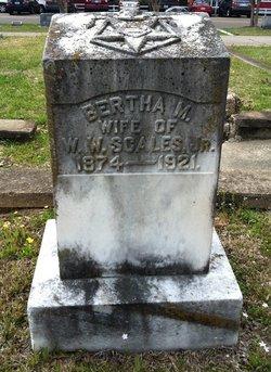Bertha M. Scales