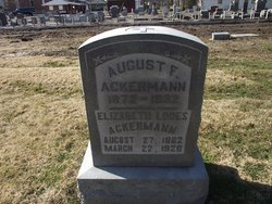 Elizabeth <i>Lodes</i> Ackermann