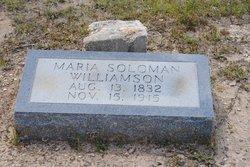 Maria <i>Solomon</i> Williamson