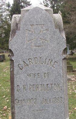 Caroline <i>Balsley</i> Pendleton