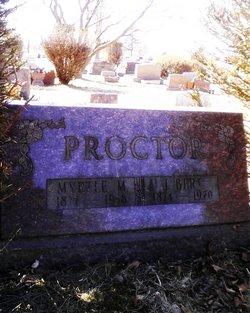 James Burdette J Bert Proctor