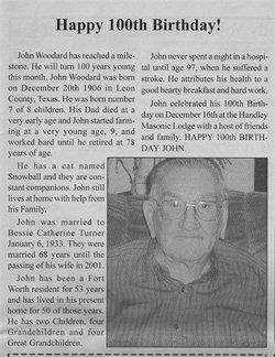 John William Johnny Woodard