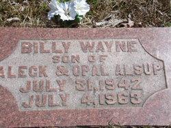 Billy Wayne Alsup