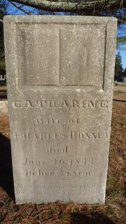 Catherine <i>Thomas</i> Bonney