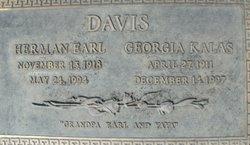 Georgia James <i>Kalas</i> Davis
