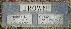 Gwendolyn Vivian Betty <i>Hilleary</i> Brown