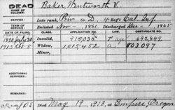 Wentworth V. Baker