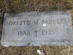 Loretto M <i>Burchiel</i> Barrett