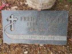 Fred Thomas Nance