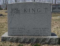 Anna M <i>Marth</i> King