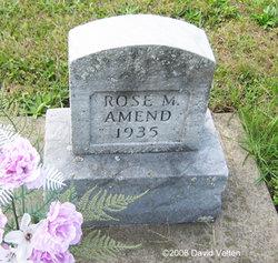 Rose M Amend