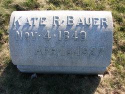 Catherine R Kate <i>Metgzer</i> Bauer