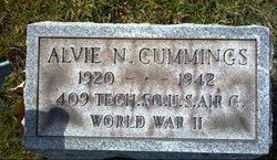 Pvt Alvie (Bud) N Cummings