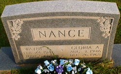 Gloria <i>Adams</i> Nance