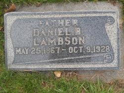 Daniel Byron Lambson